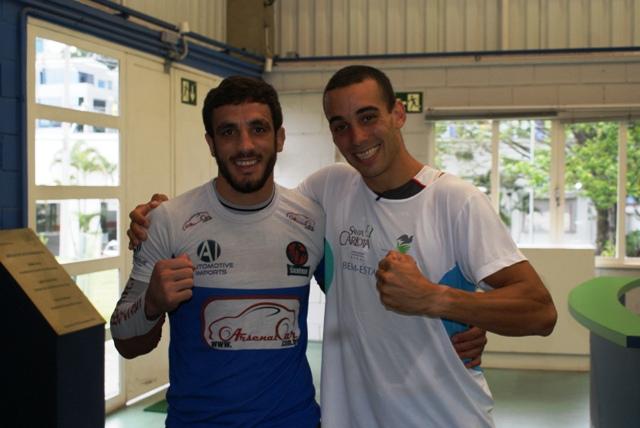 Elias Silvério do UFC e triatleta Maicon Duzo passam por avaliações no NAR