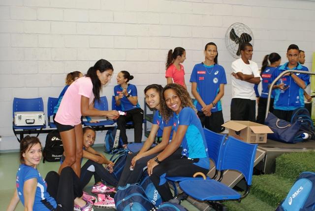 Atletas de todas as idades e modalidades do Clube Pinheiros fazem testes no NAR