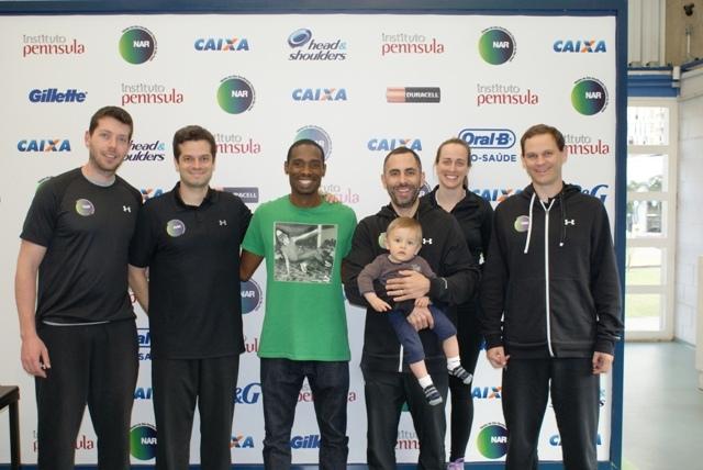 Após tour mundial, Diogo Silva visita o NAR