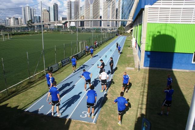 Red Bull Futebol testa seus níveis de velocidade e agilidade pensando no Campeonato Paulista de 2015