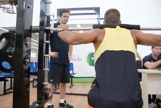 O triatleta Igor Amorelli estreia o novo NAR