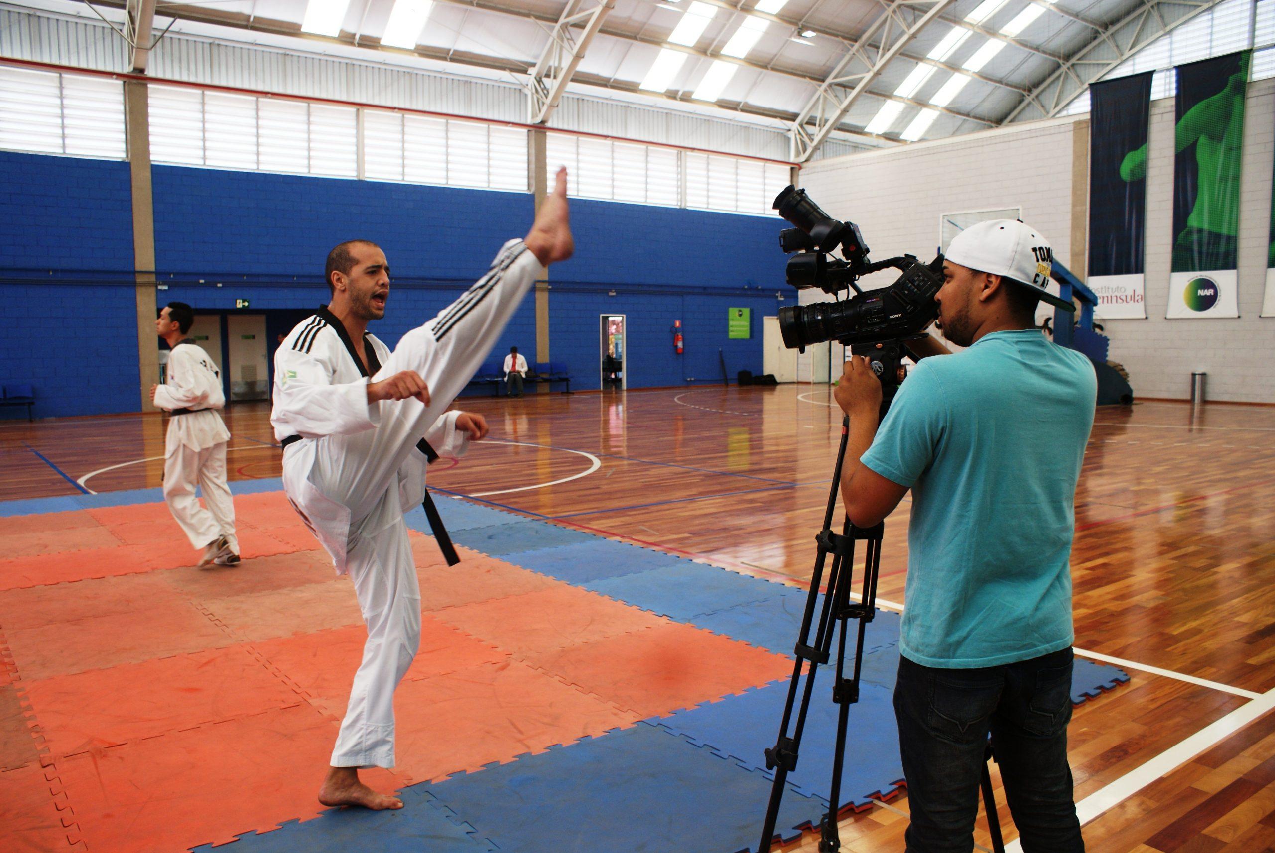 Lucas Ferreira disputa Pré-Pan de Taekwondo