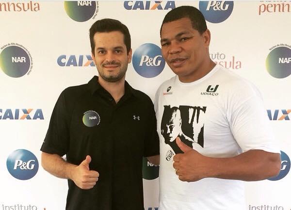 Melhor pugilista da América Latina é avaliado no NAR