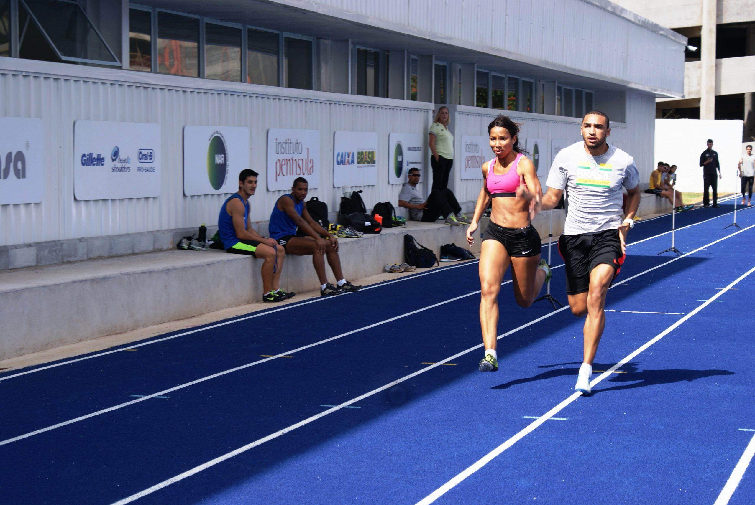 No segundo dia de avaliações, velocistas paralímpicos vão à pista