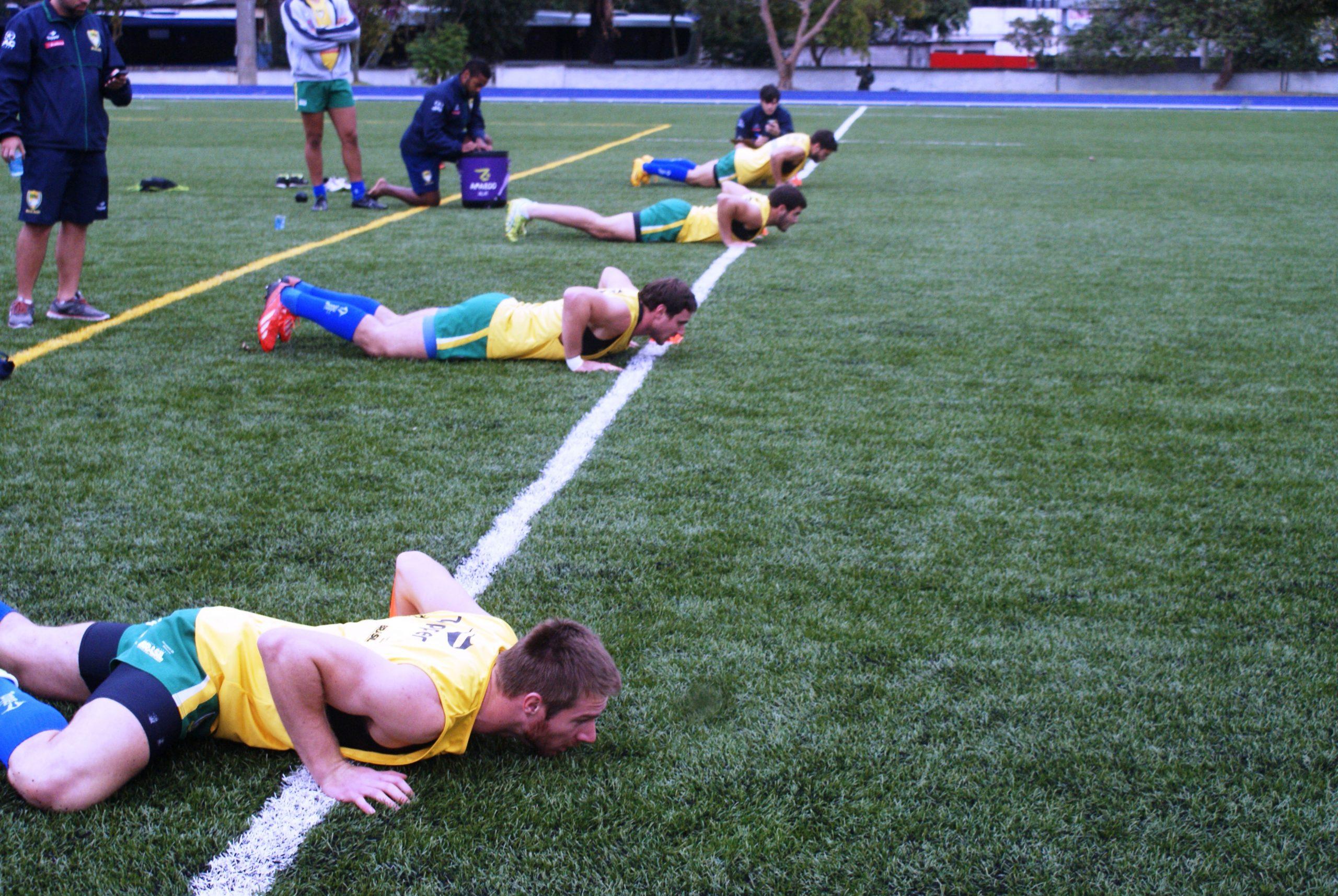 Seleção masculina de Rugby Sevens mostra evolução em suas reavaliações