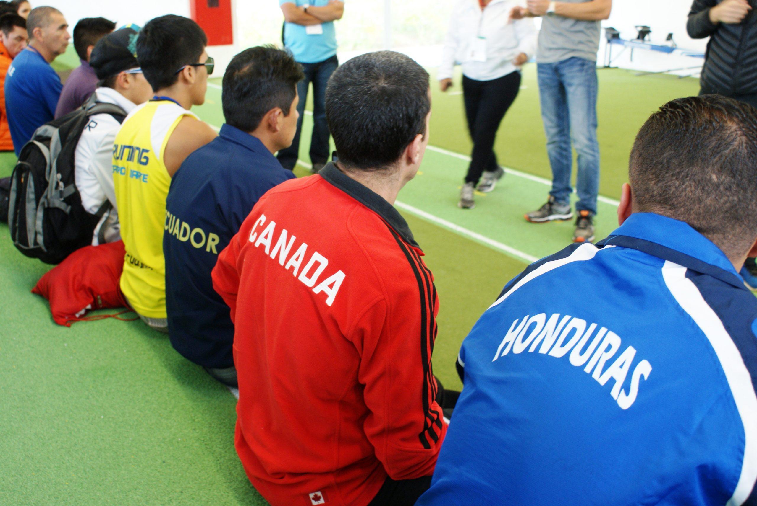 Atletas paralímpicos de toda a América Latina participam de workshop no NAR