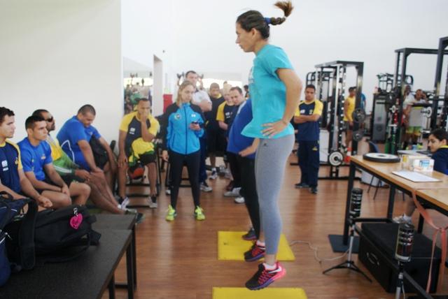 Seleção paralímpica de judô faz última avaliação física antes dos Jogos Para-Pan