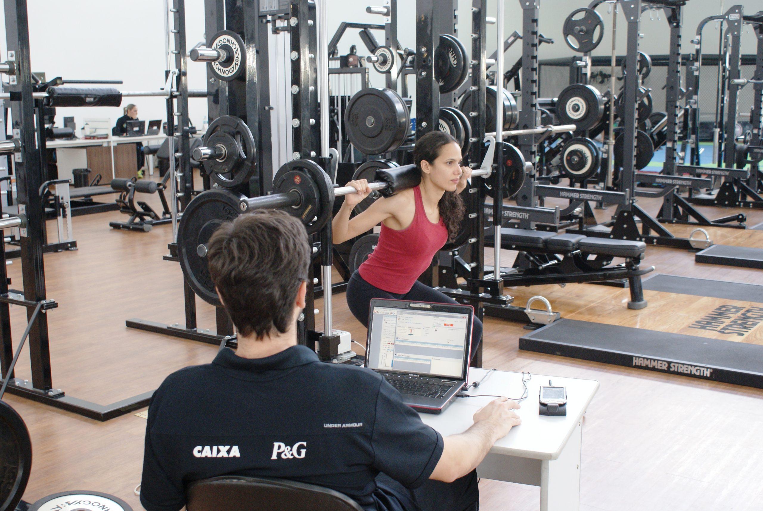 Taekwondista Diana Freitas continua acompanhamento físico no NAR