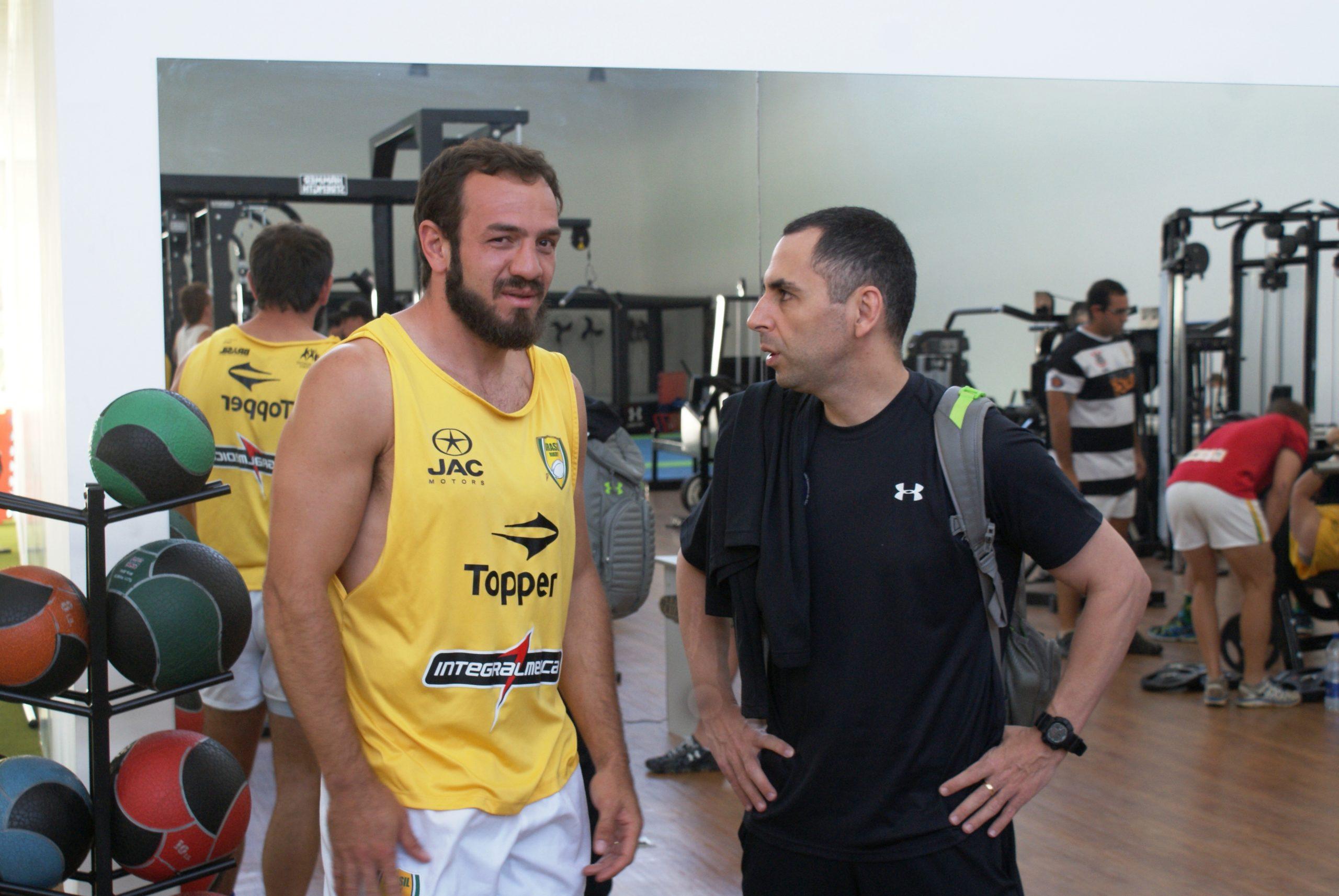 """Treinador da seleção masculina de rugby afirma: """"NAR é único no mundo"""""""