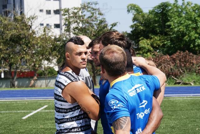 Duelos de Titãs: seleção brasileira de rugby vs. Vitor Belfort e Glover Teixeira