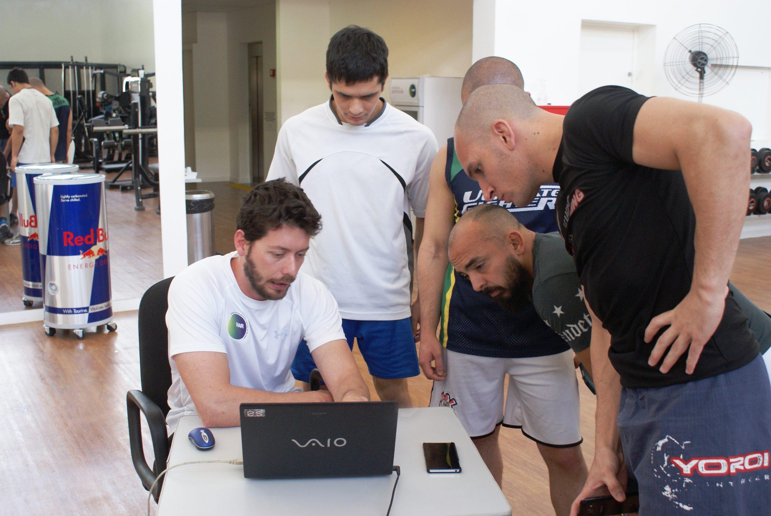 Kudo Wrestling Team participa de avaliações no NAR
