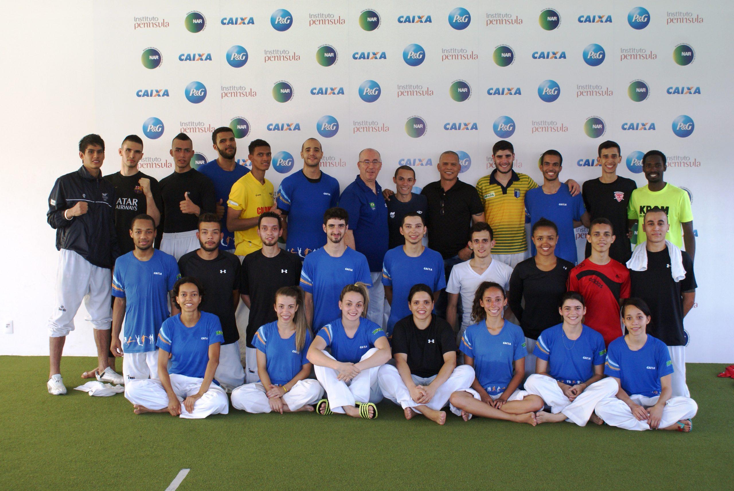 Equipe Carlos Negrão faz camp com seleção colombiana de taekwondo