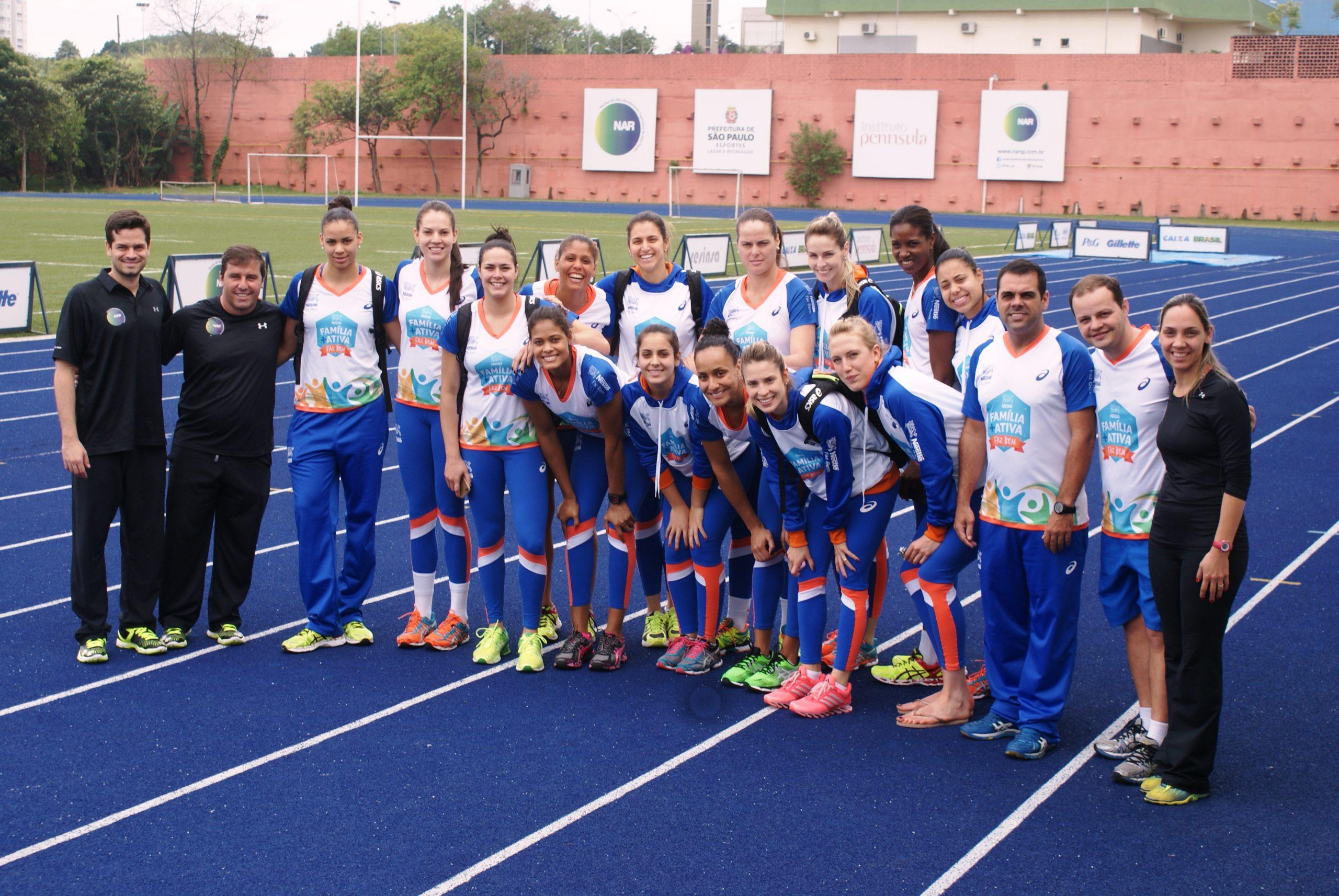 Campeã paulista e repleta de atletas olímpicas e de seleção, equipe de vôlei Nestlé/Osasco é avaliada no NAR