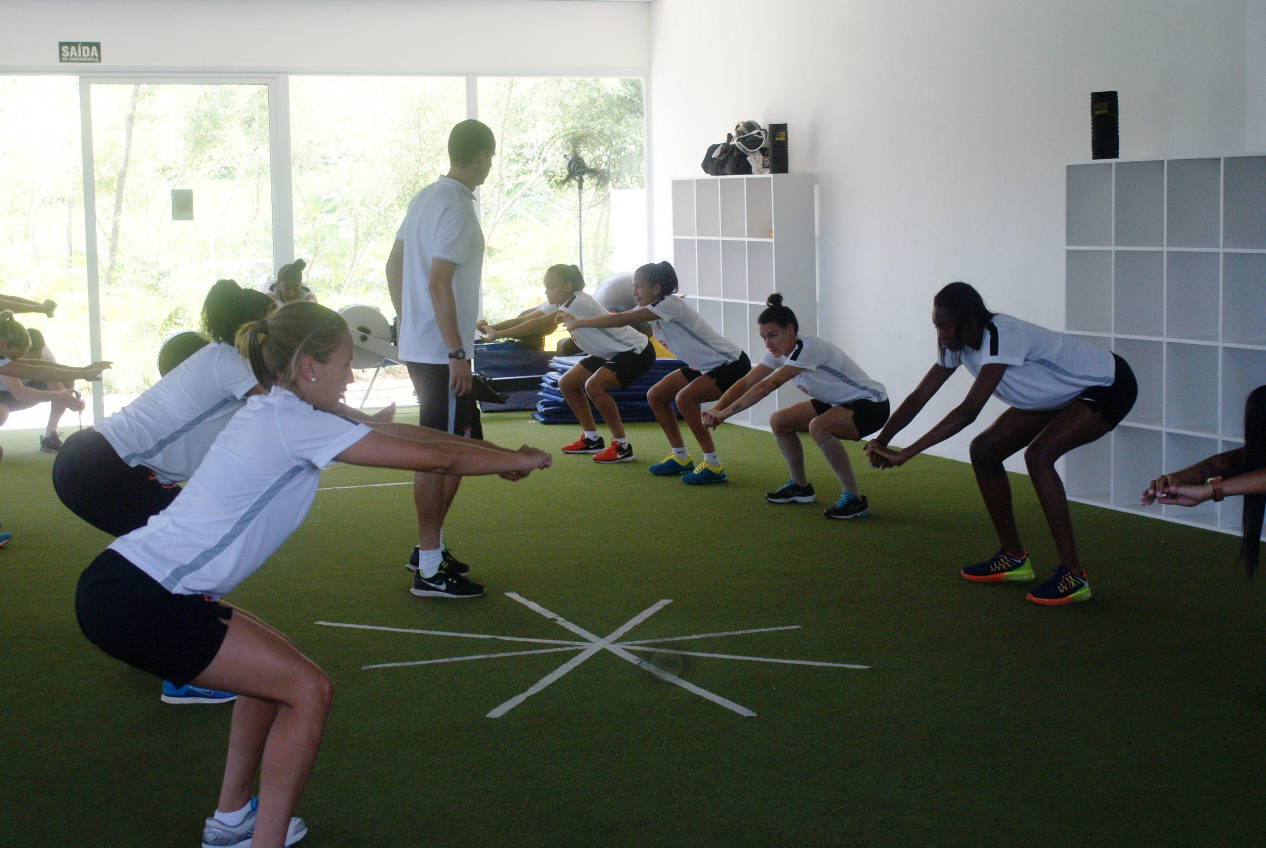 NAR continua estudo científico com atletas de futebol do Corinthians Osasco Audax