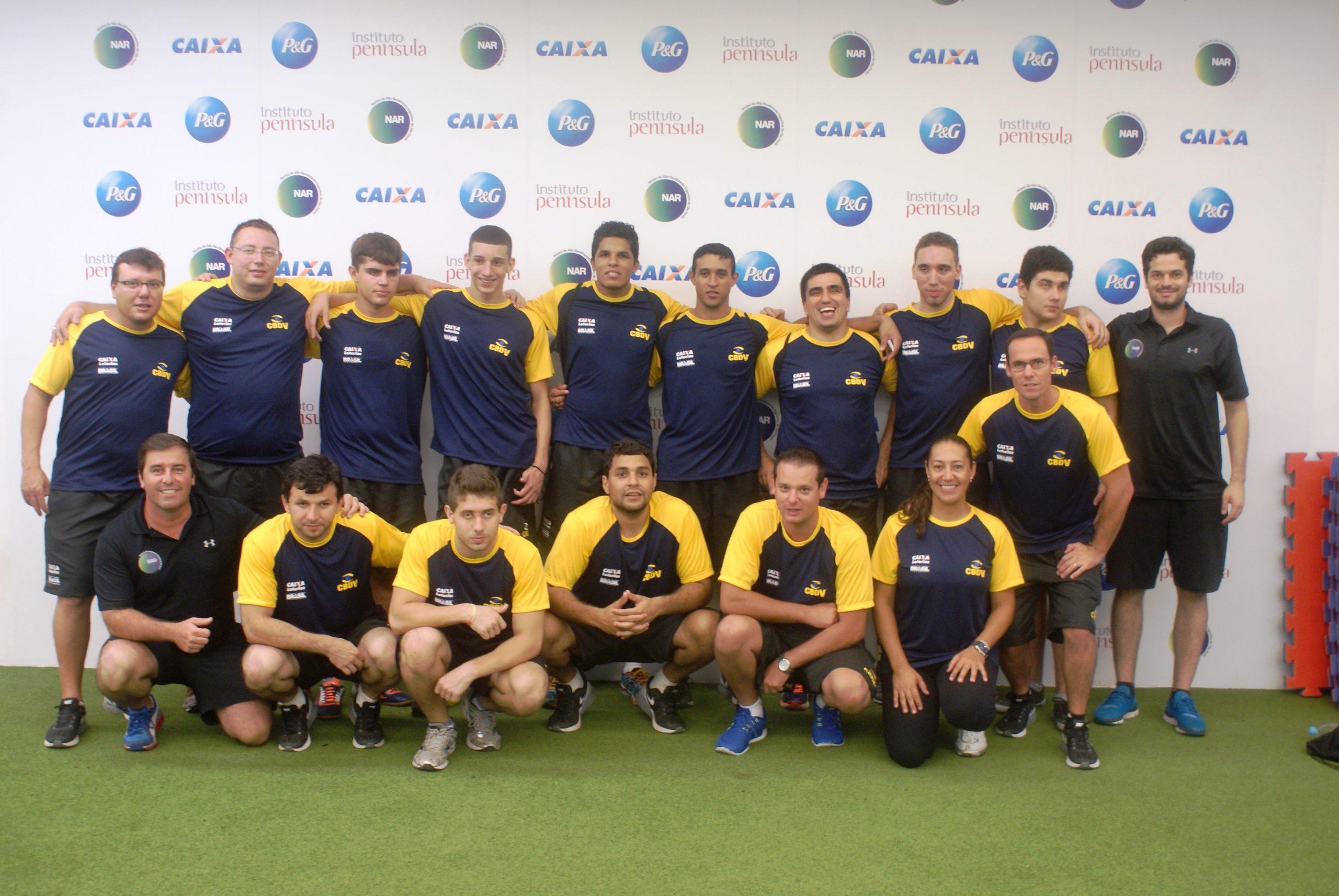 Desafio da seleção masculina de goalball é permanecer no topo