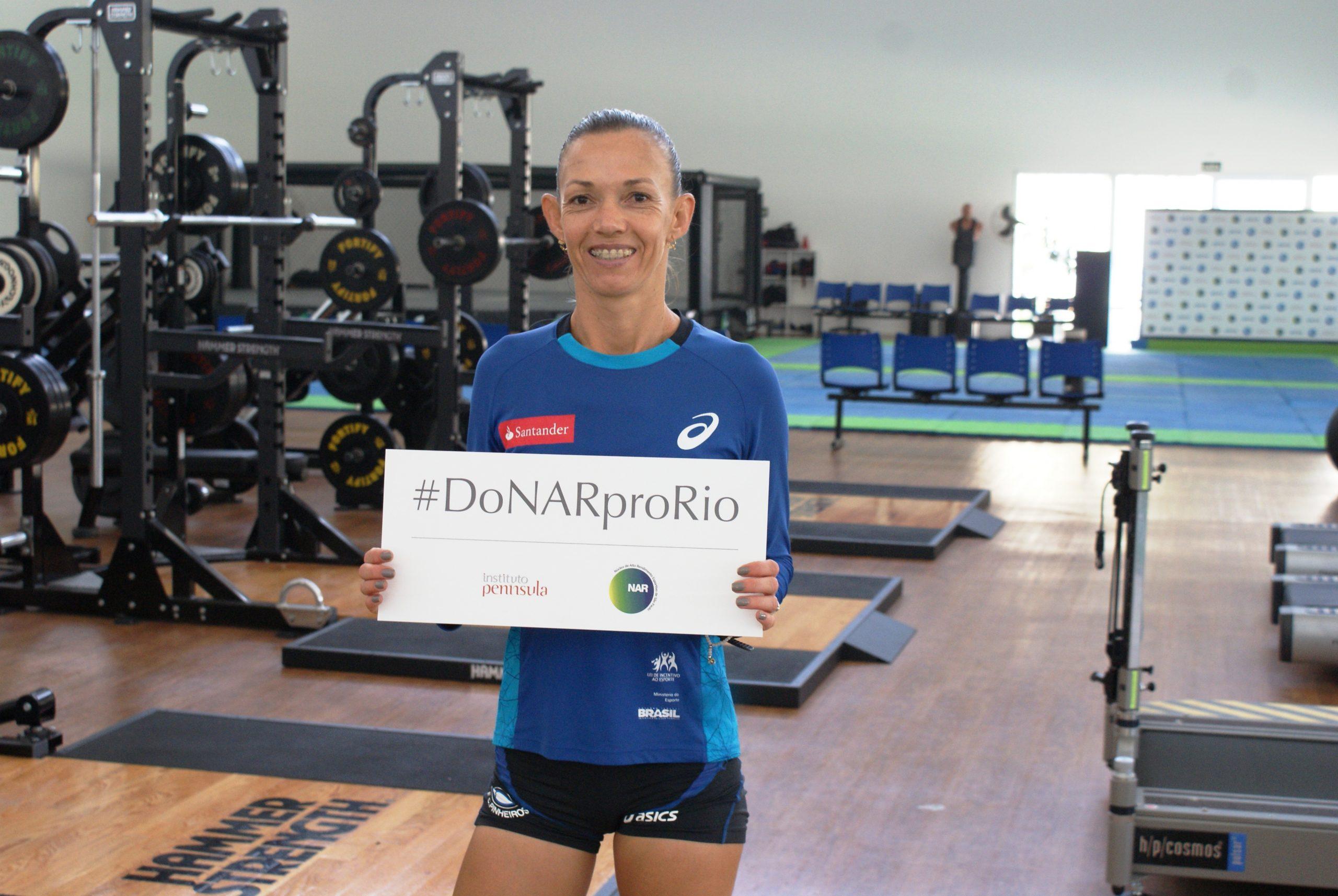 Maratonista Adriana Aparecida passa por avaliações no NAR e inicia nova fase de treinos