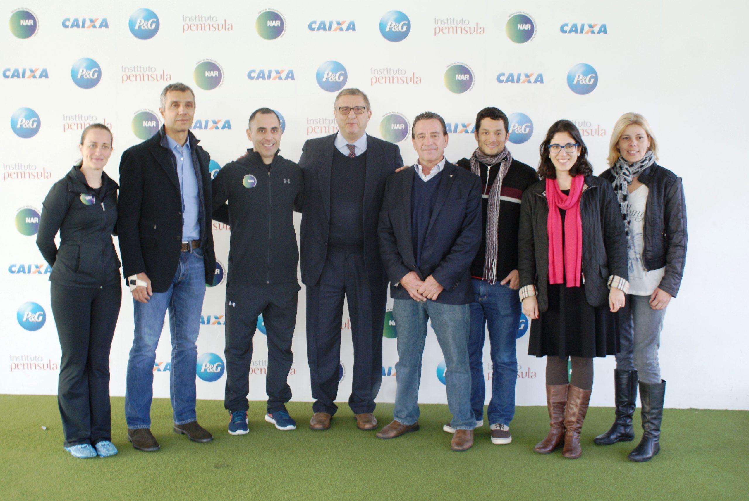 Secretário de Esportes de São Paulo se encontra com João Paulo Diniz no NAR