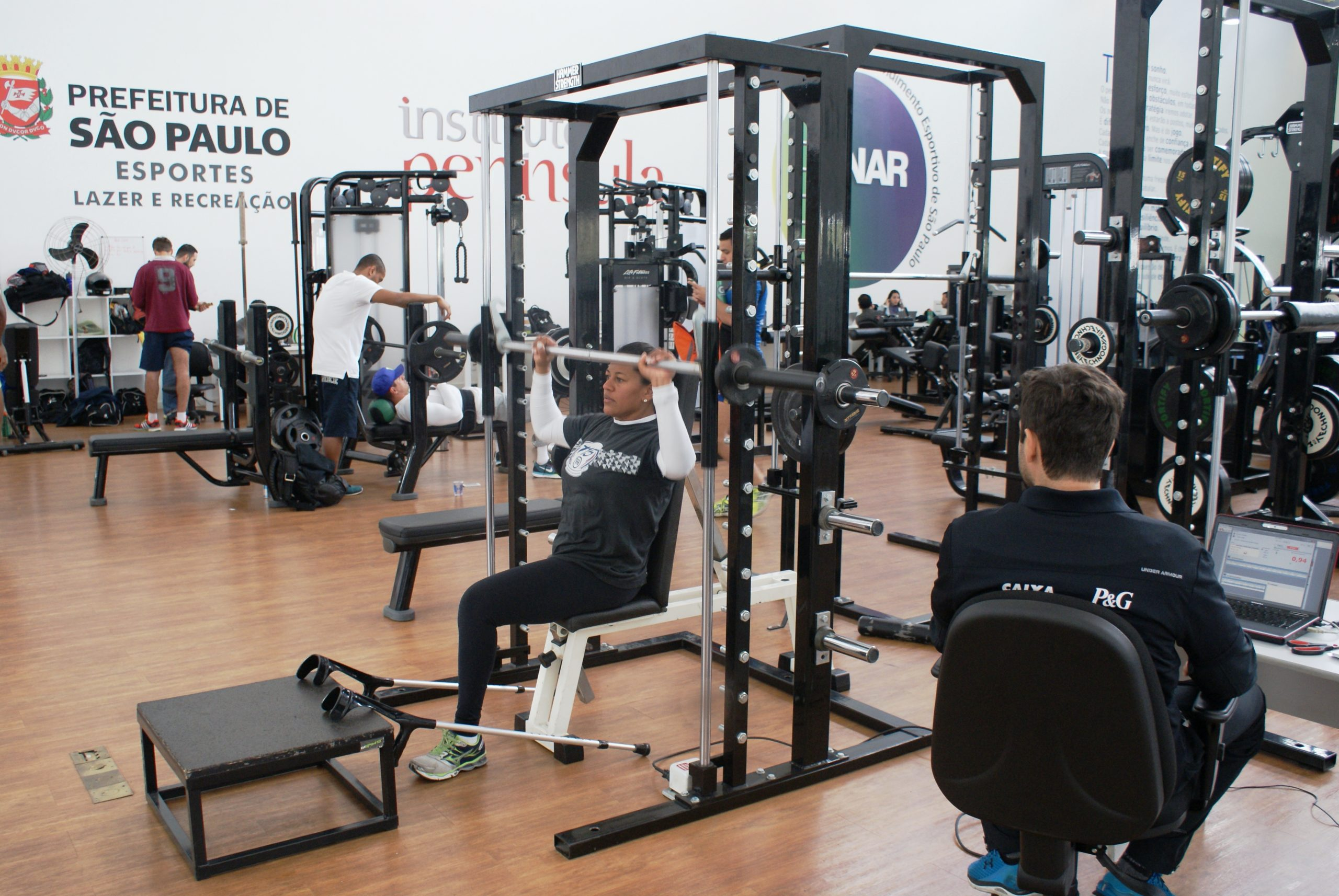 Cláudia Santos continua sua preparação para os Jogos Paralímpicos no NAR
