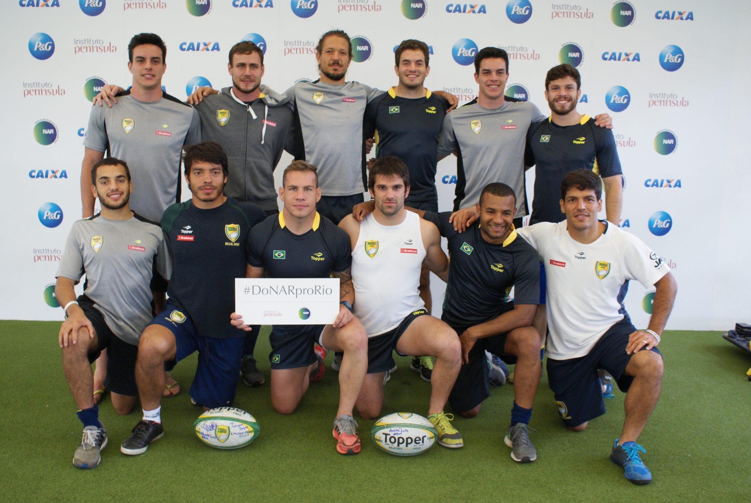 Seleção Brasileira de Rugby Sevens se prepara para último compromisso antes dos Jogos Olímpicos no NAR