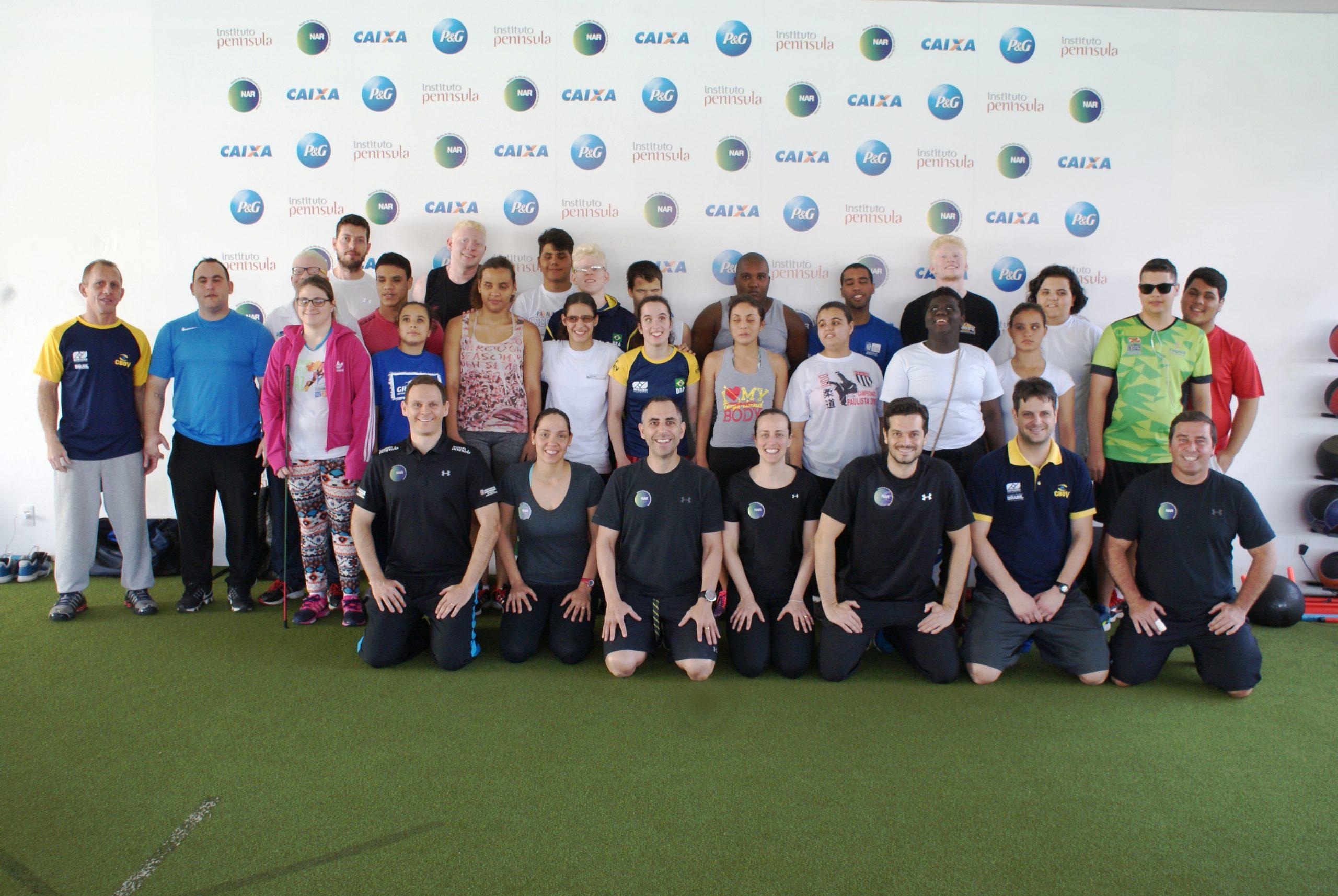 Seleção brasileira de jovens do judô paralímpico é avaliada no NAR