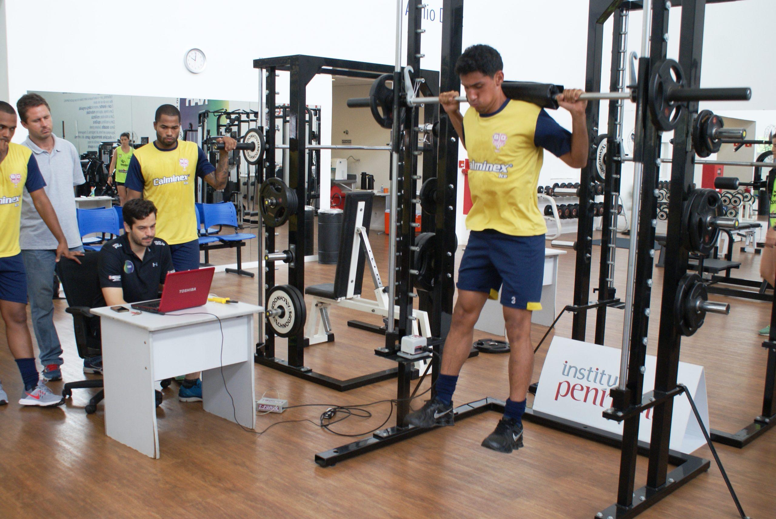 Continuando parceria científica com o NAR-SP, atletas do Grêmio Esportivo Osasco passam por avaliações de força e potência