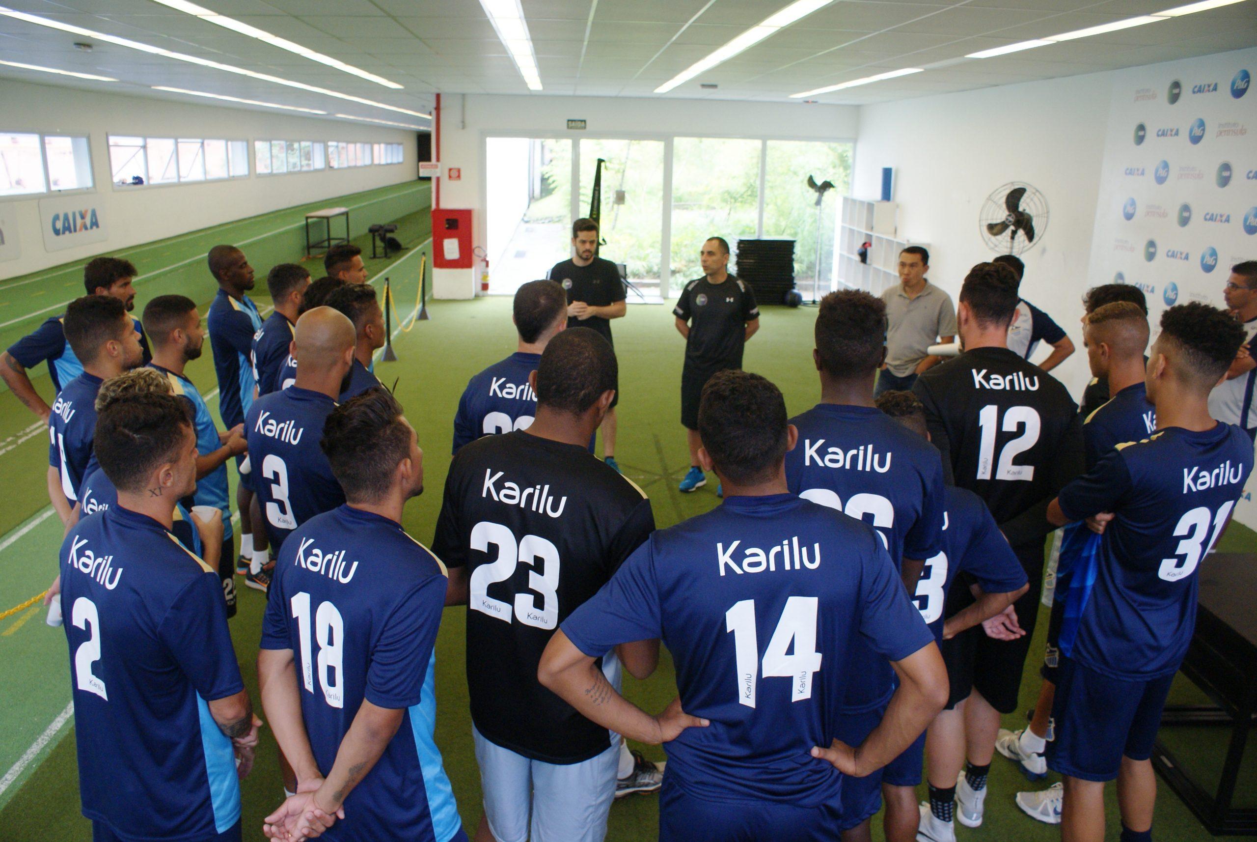 Esporte Clube Água Santa faz sua estreia no NAR-SP
