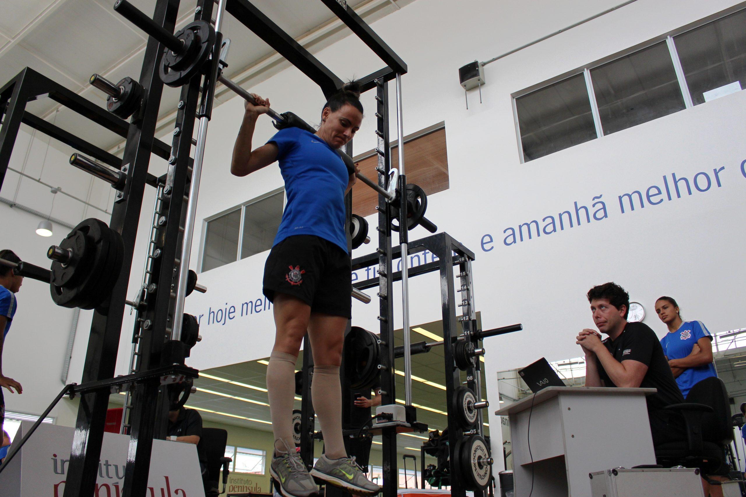 Campeãs da Copa do Brasil, meninas do Corinthians-Audax são avaliadas no NAR-SP