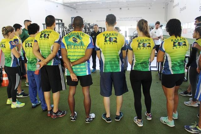 Após competir no 5º Open Internacional de Karatê Arnold Classic South America, seleção de karatê vem ao NAR-SP para avaliações