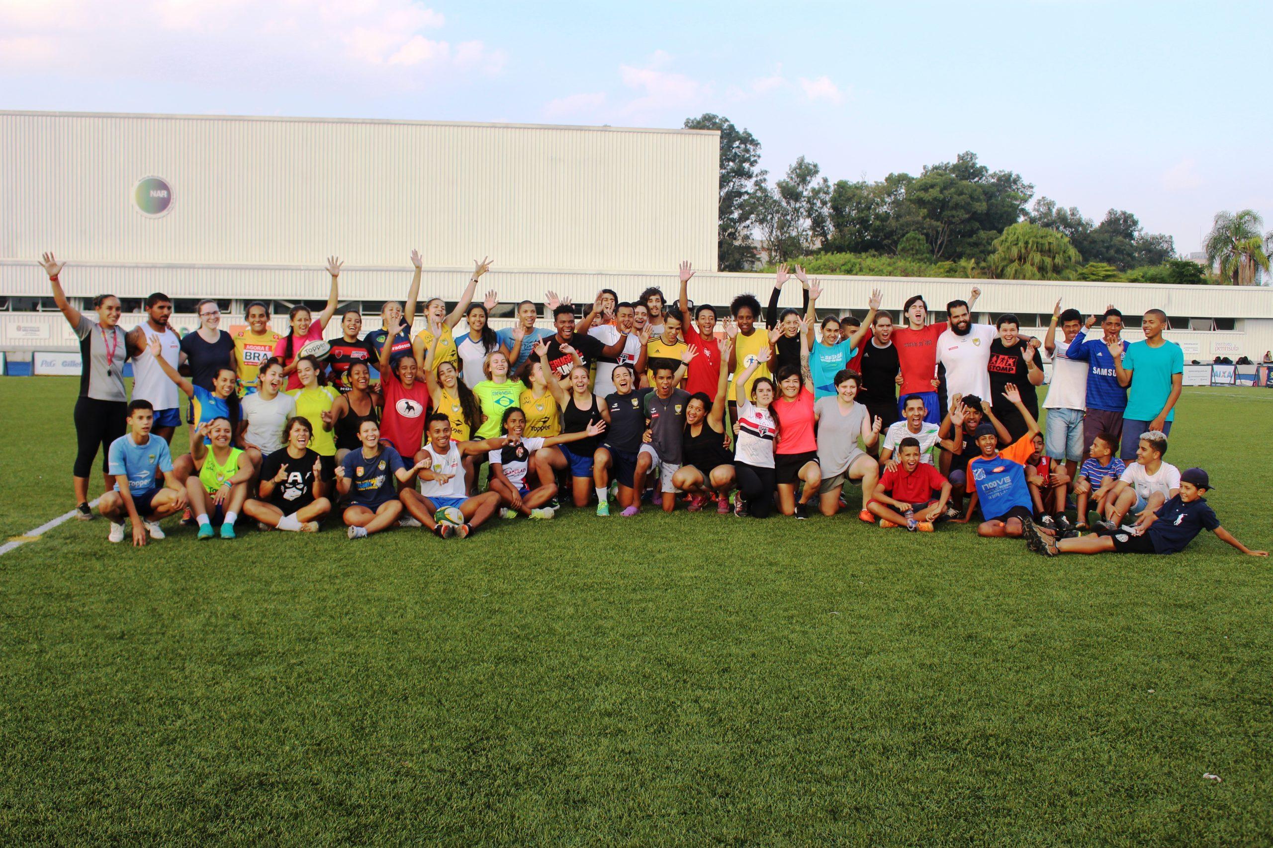 NAR-SP, em parceria com a Confederação Brasileira de Rugby, abre as portas para