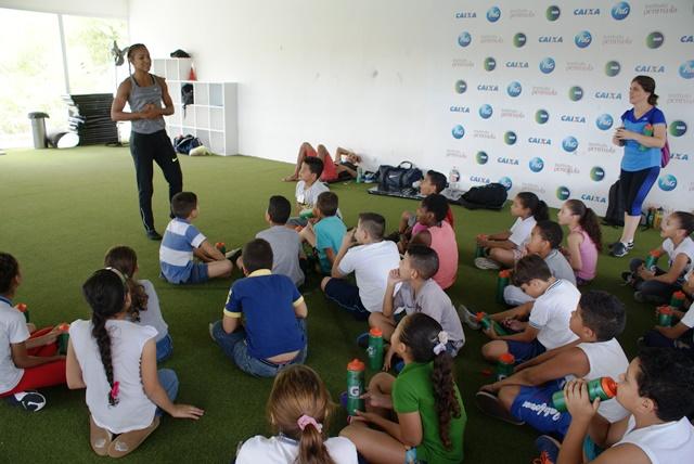 Crianças do Eprocad vivenciam o poder transformador do esporte no NAR-SP