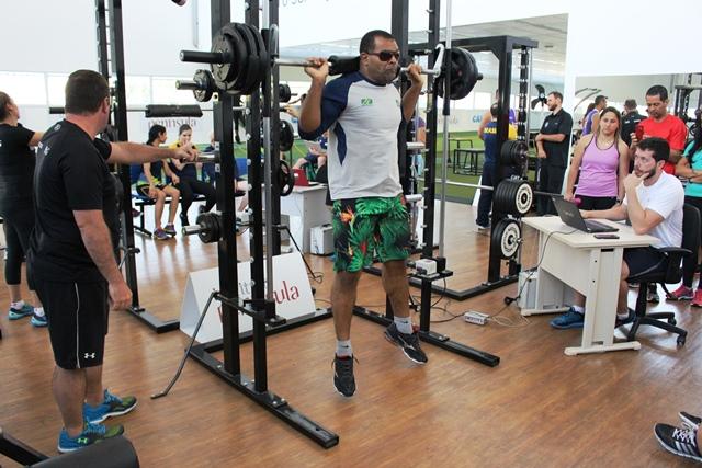 Seleção paralímpica de judô é avaliada no NAR-SP