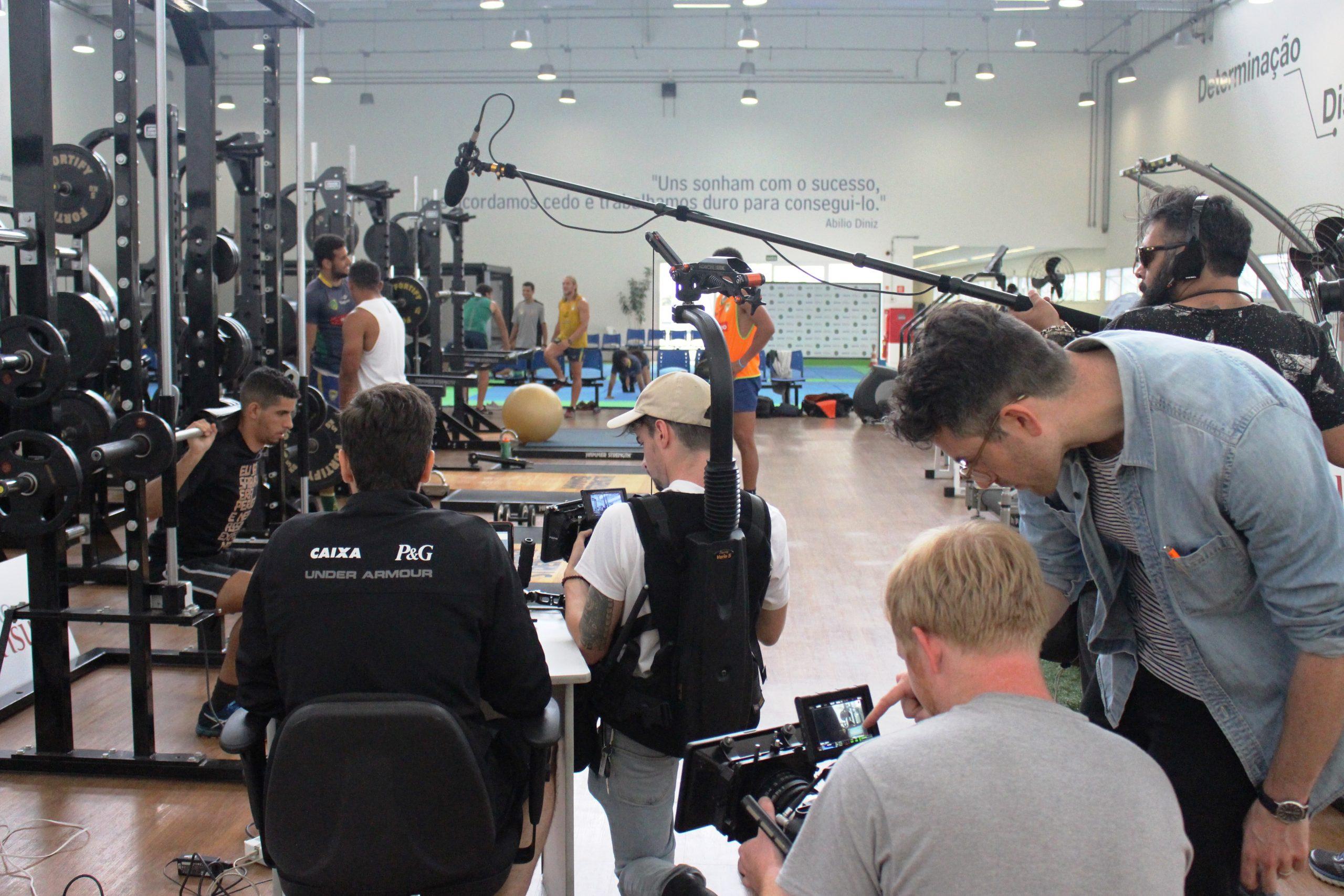 Sob os olhares das câmeras, seleção brasileira de Ski Cross Country passa por avaliações no NAR-SP
