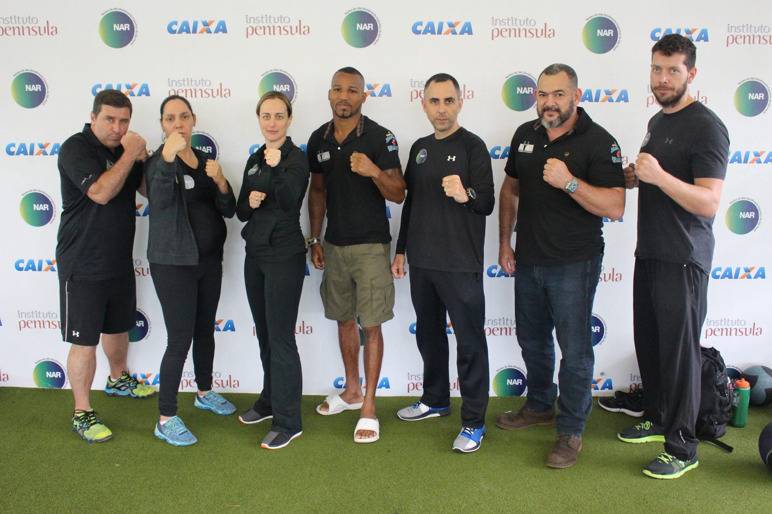 Único pugilista campeão olímpico brasileiro passa por avaliações no NAR-SP
