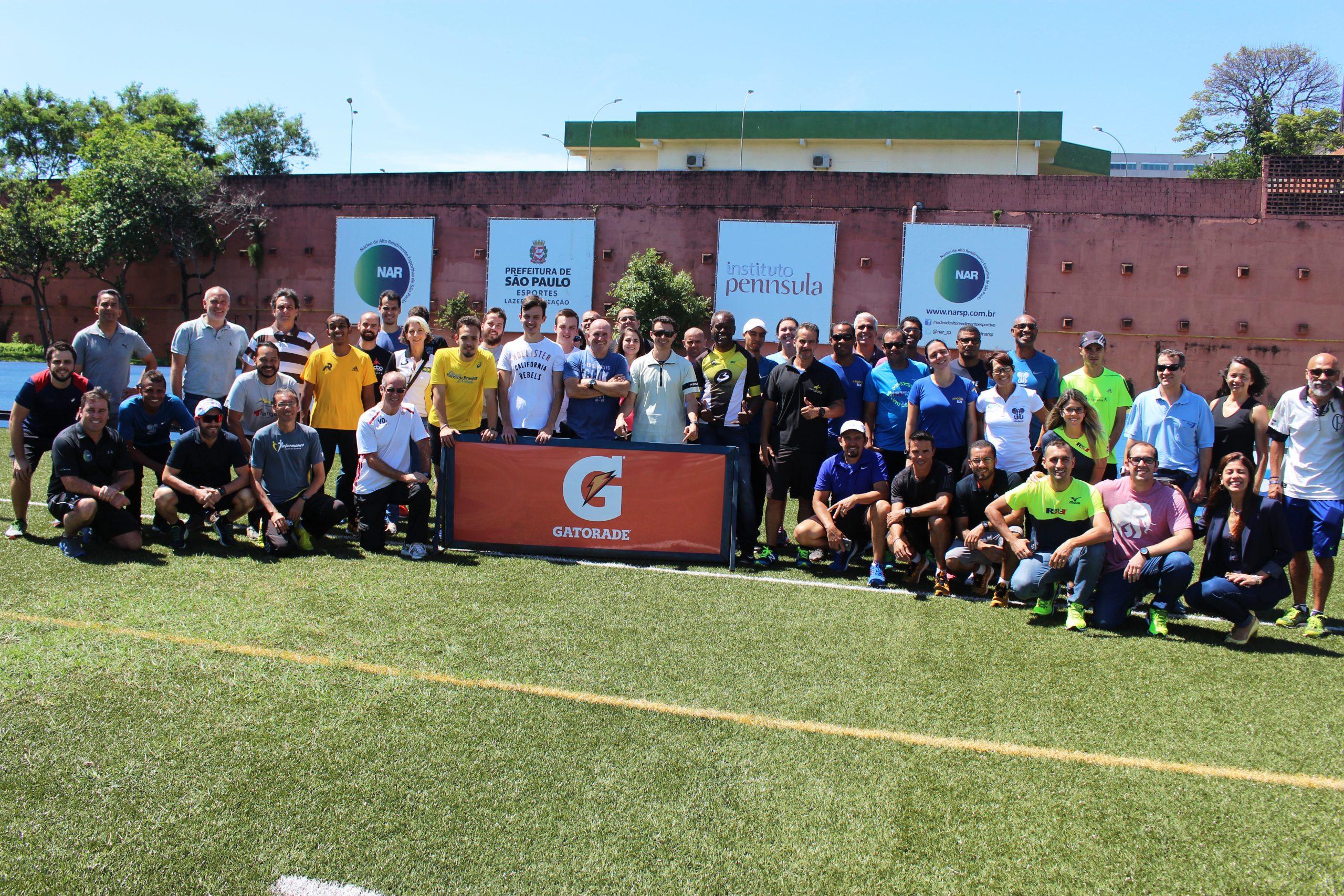 NAR-SP sedia Encontro de Atualização Científica para Assessorias Esportivas de São Paulo do Gatorade Sports Science Institute