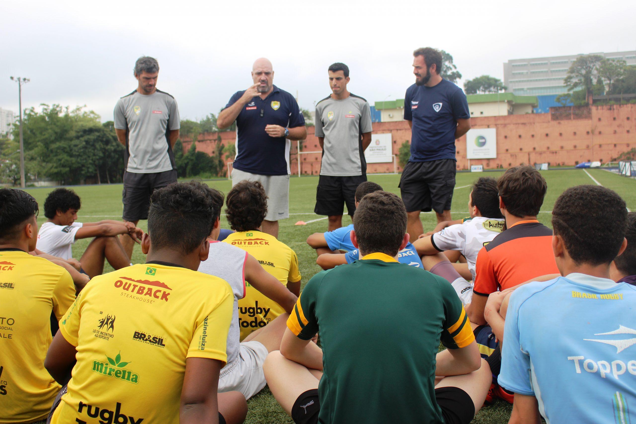 Confederação Brasileira de Rugby realiza seletiva para sua seleção juvenil no NAR-SP
