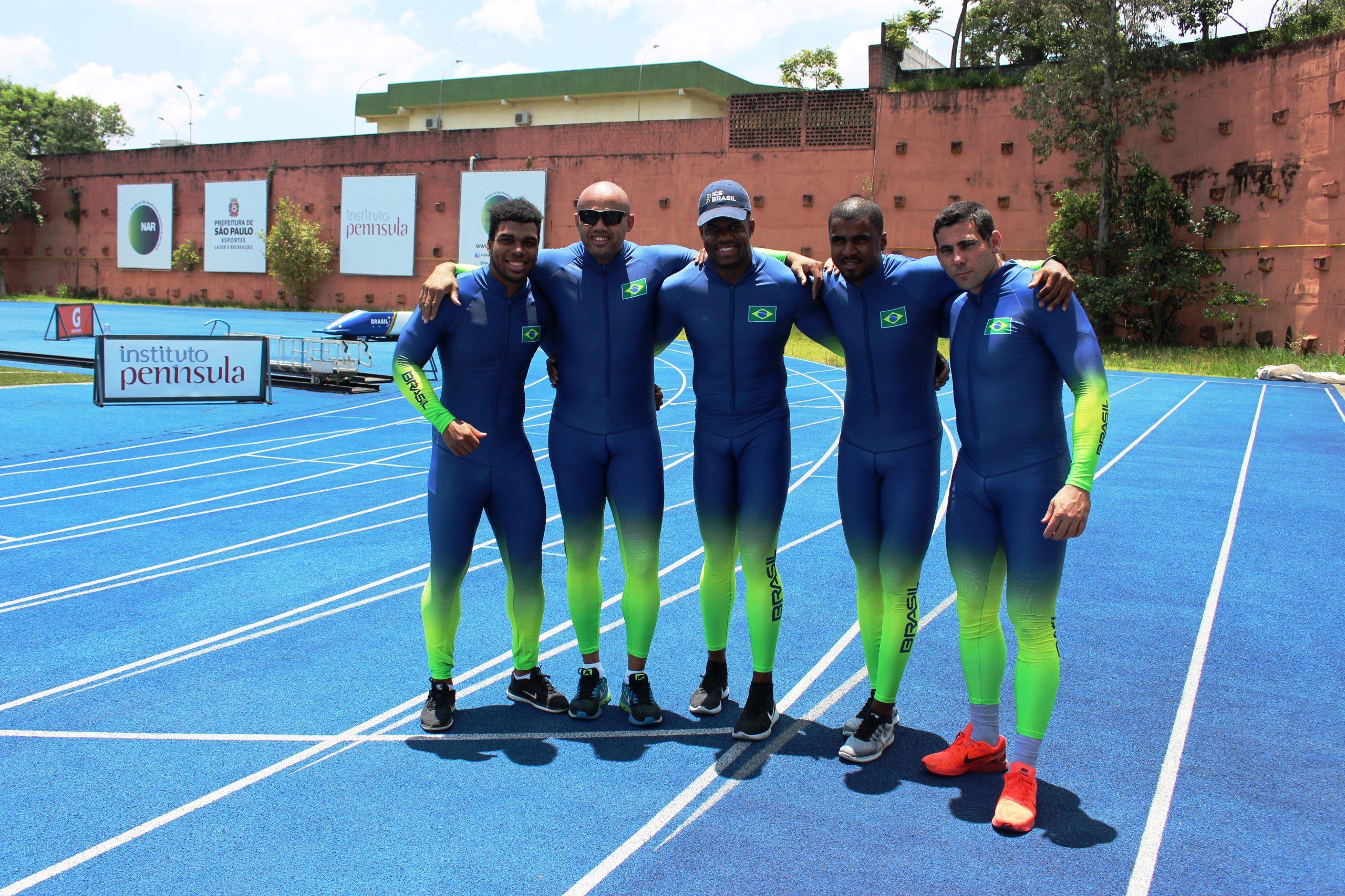 Classificada para os Jogos Olímpicos, seleção de bobsled se reúne pela última vez no NAR-SP
