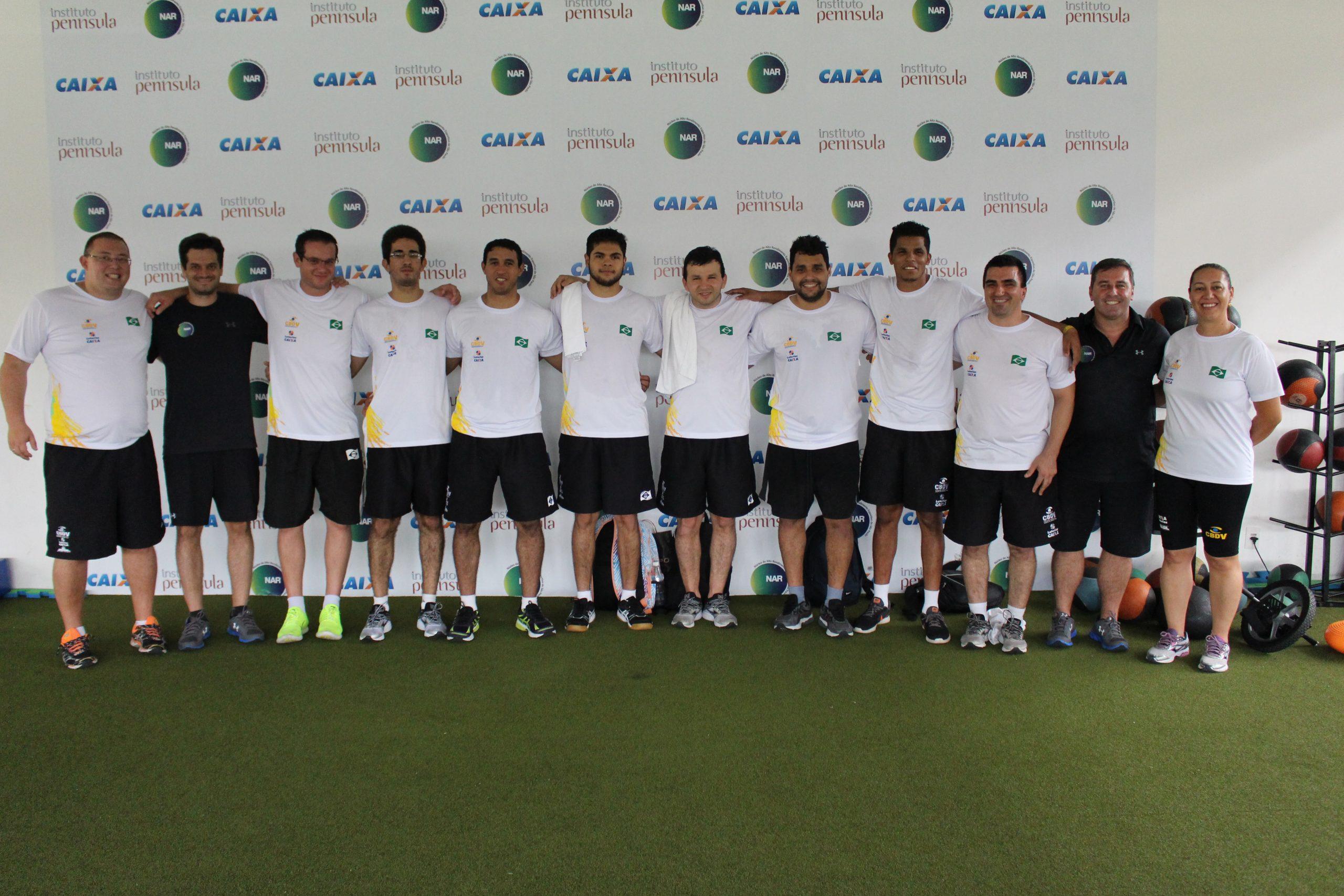 Focados no Mundial, seleção masculina de goalball é avaliada no NAR-SP