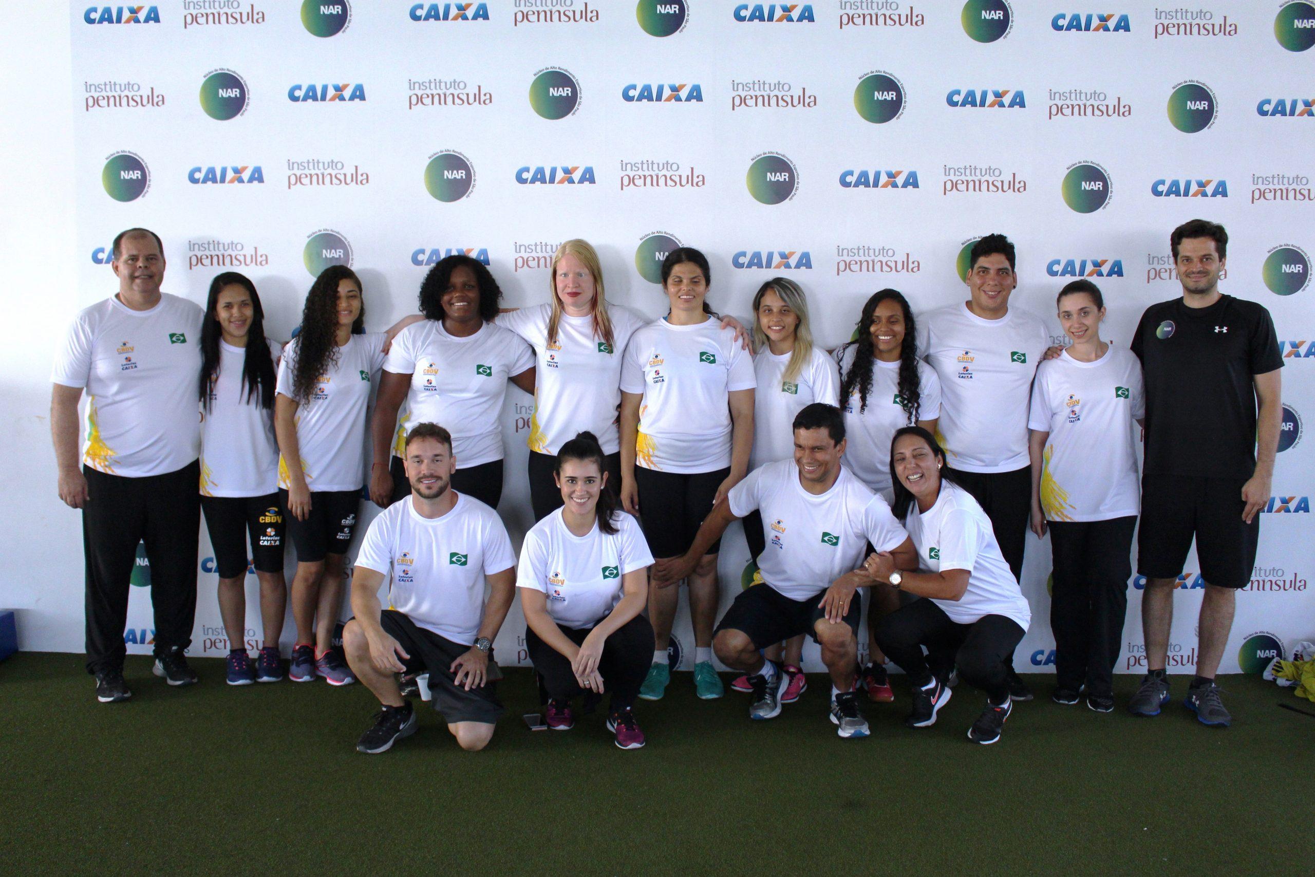 Seleção feminina de goalball inicia preparação para 2018 no NAR-SP