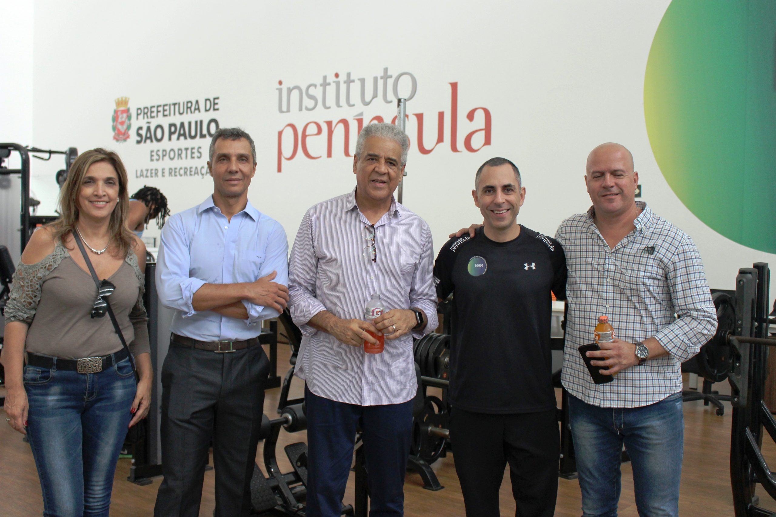 João Paulo Diniz e Irineu Loturco recebem o Secretário dos Esportes da Prefeitura de São Paulo no NAR-SP
