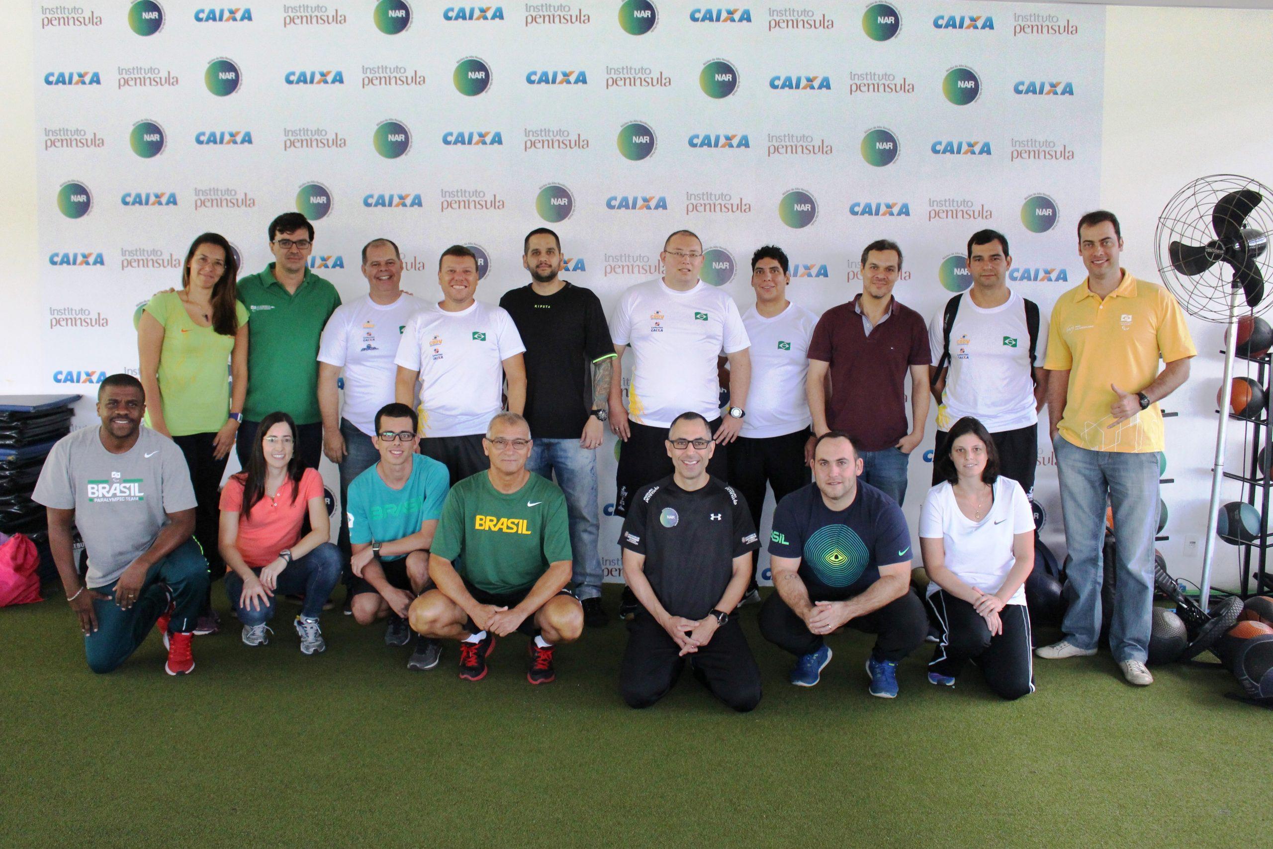 Técnicos das principais seleções paralímpicas se reúnem no NAR-SP para palestras