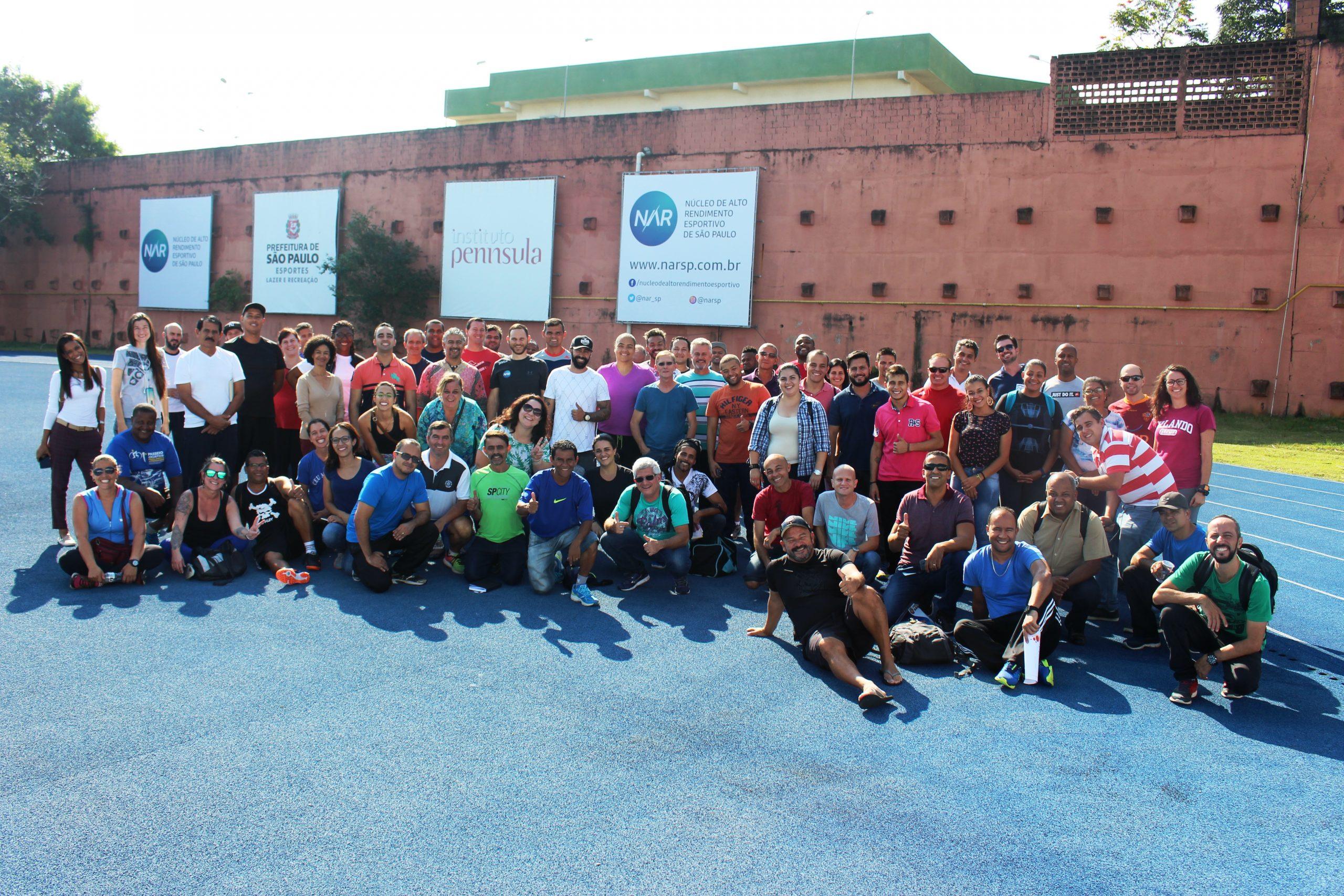 Coordenadores e analistas dos CEUs visitam o NAR-SP para conhecer programa CEU Olímpico
