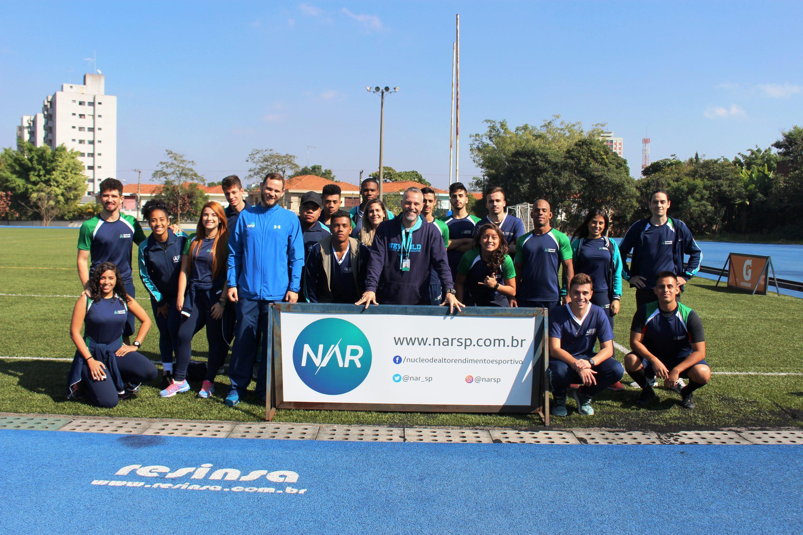 NAR abre suas portas para alunos de Educação Física da faculdade Anhembi-Morumbi