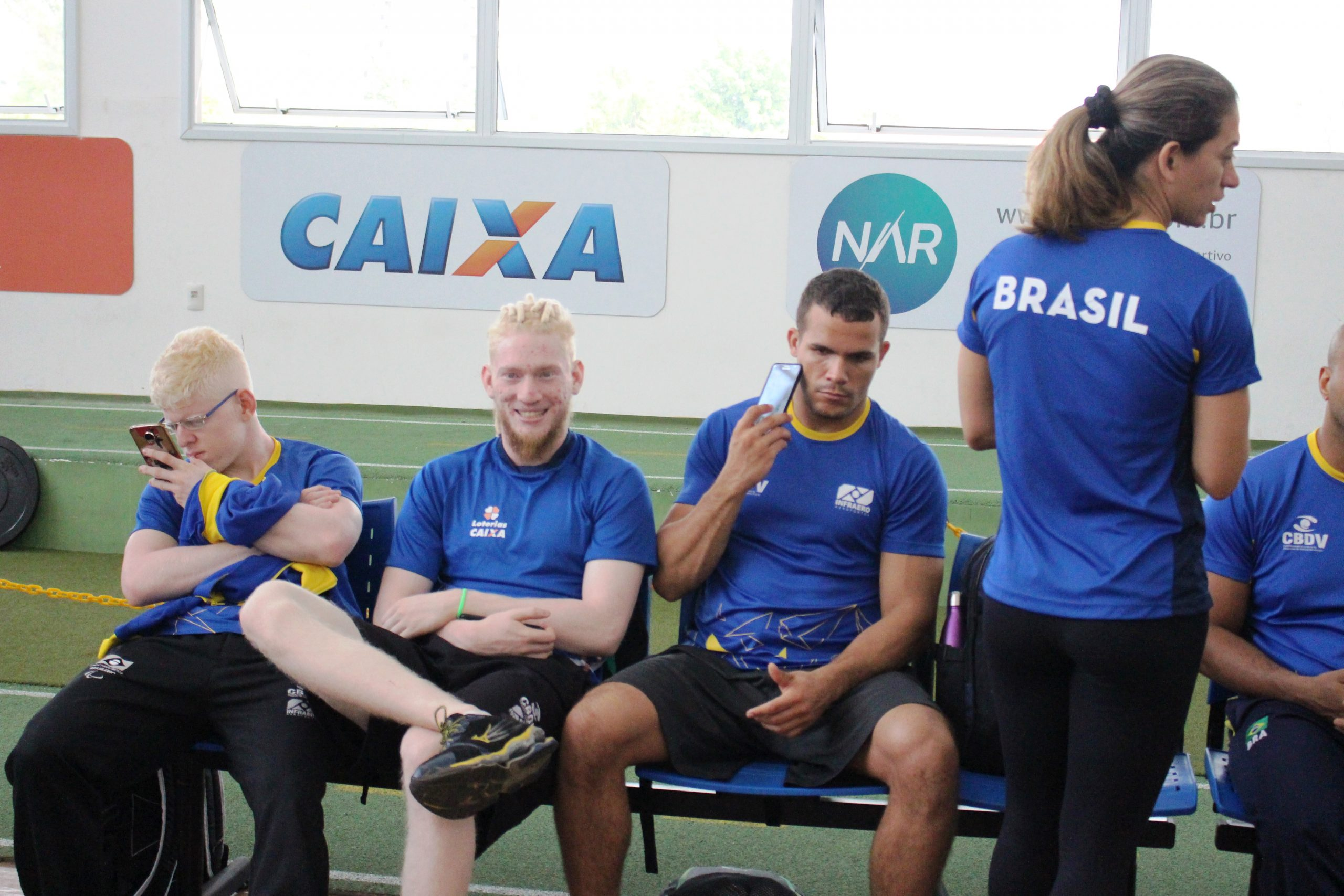 Seleção de judô paralímpico inicia fase de treinamento no NAR