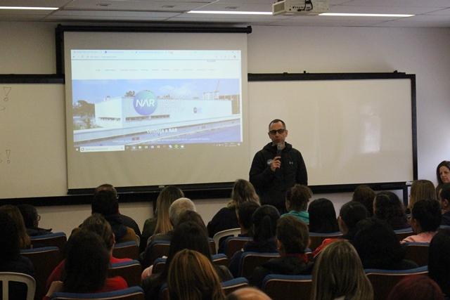 NAR recebe professores da rede municipal de ensino de São Bernardo do Campo