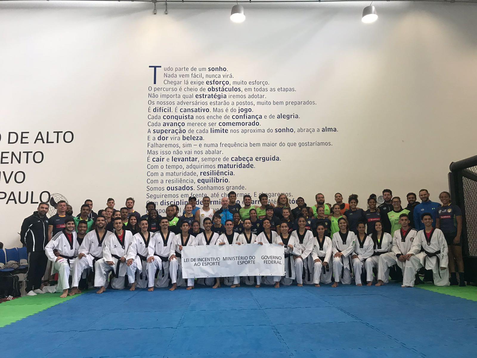 Projeto incentivado beneficia 65 atletas que treinam no NAR