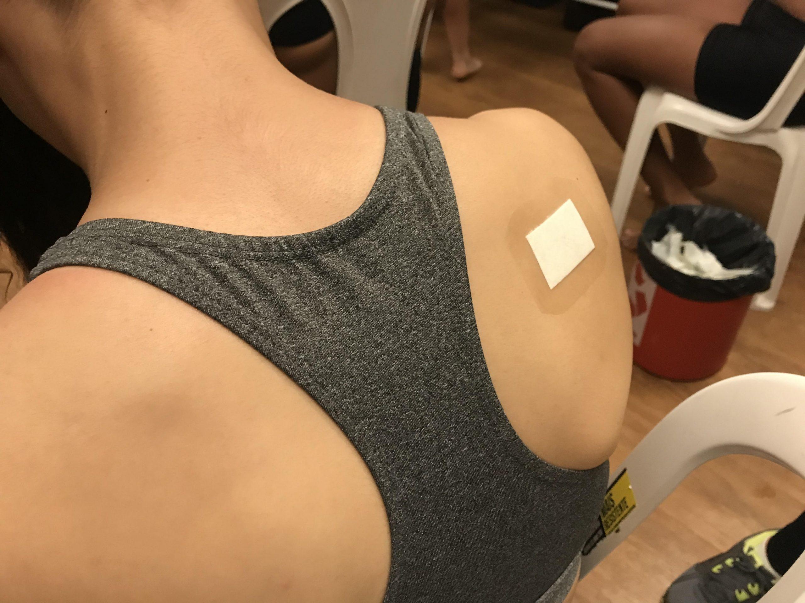 Gatorade realiza teste do suor no NAR