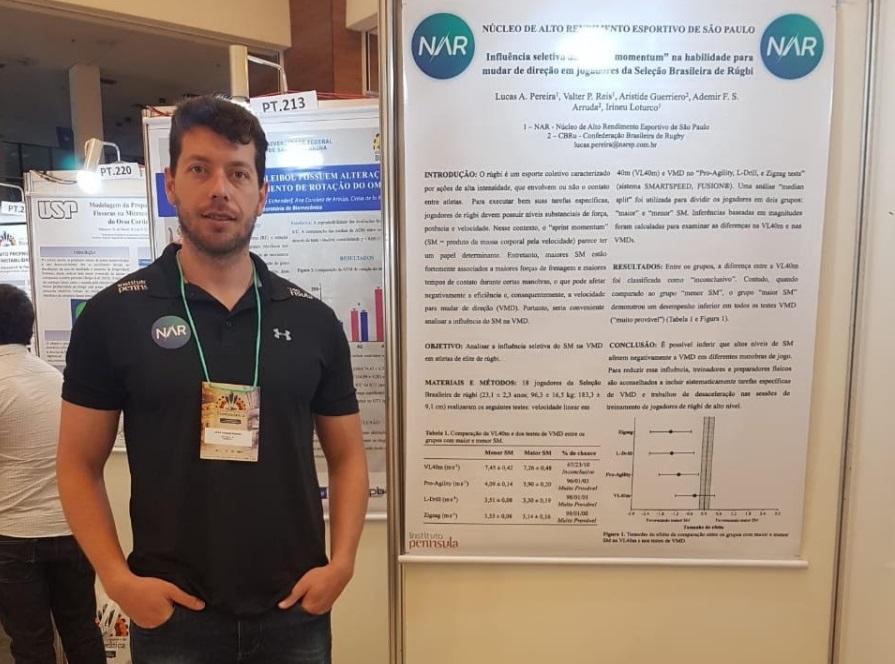 NAR apresenta trabalhos em congresso de biomecânica
