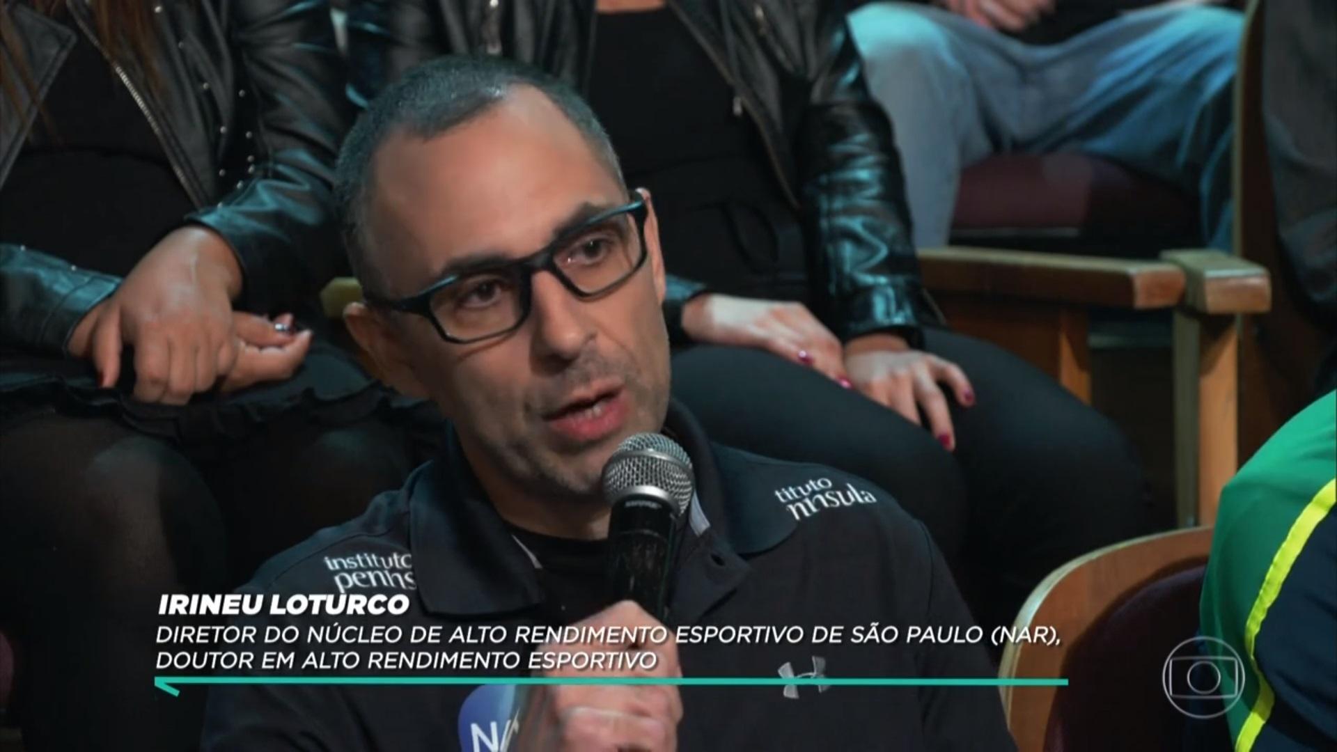 Irineu Loturco participa do programa 'Conversa com Bial'