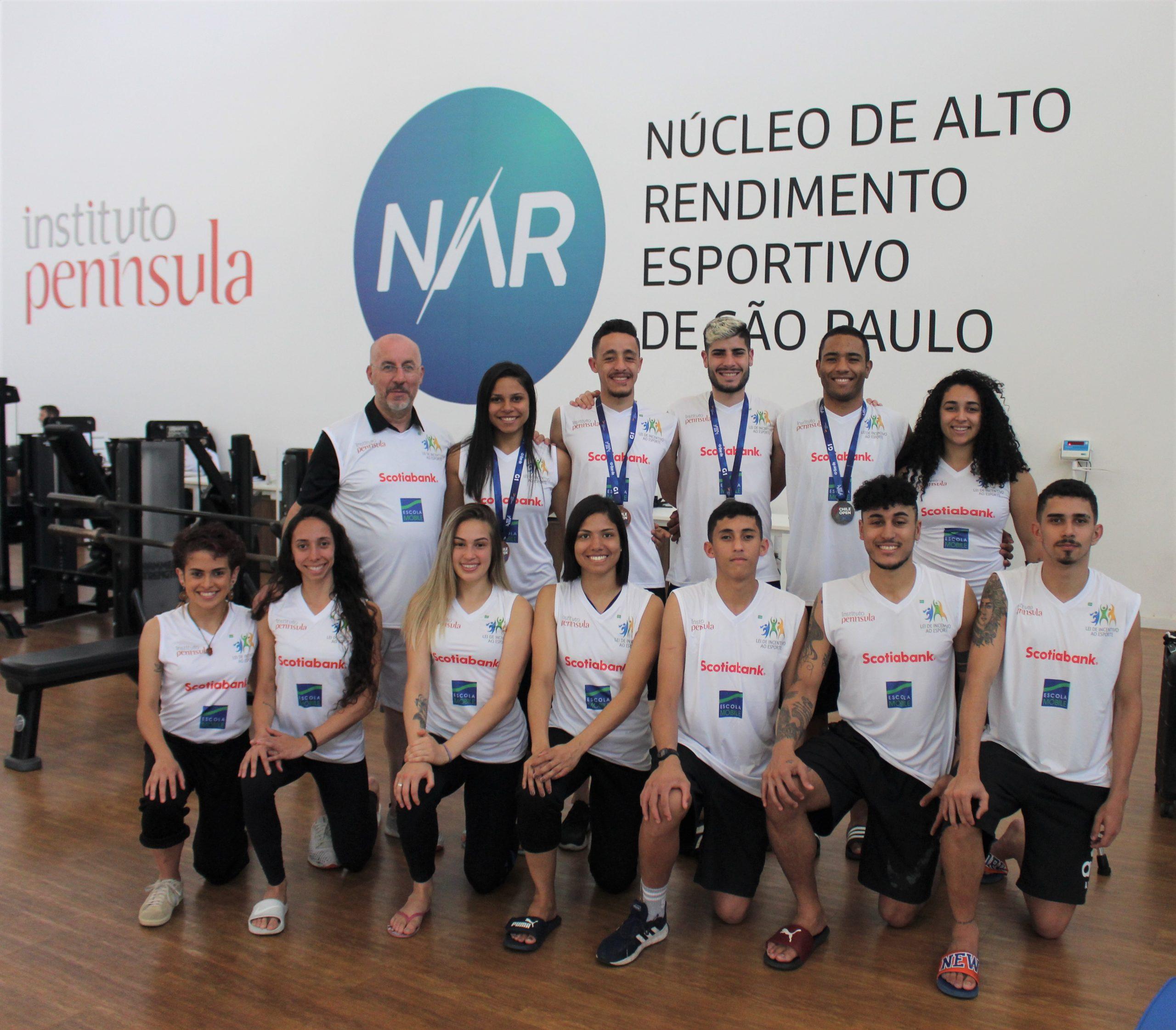 Equipe ECN-NAR se destaca no Chile Open