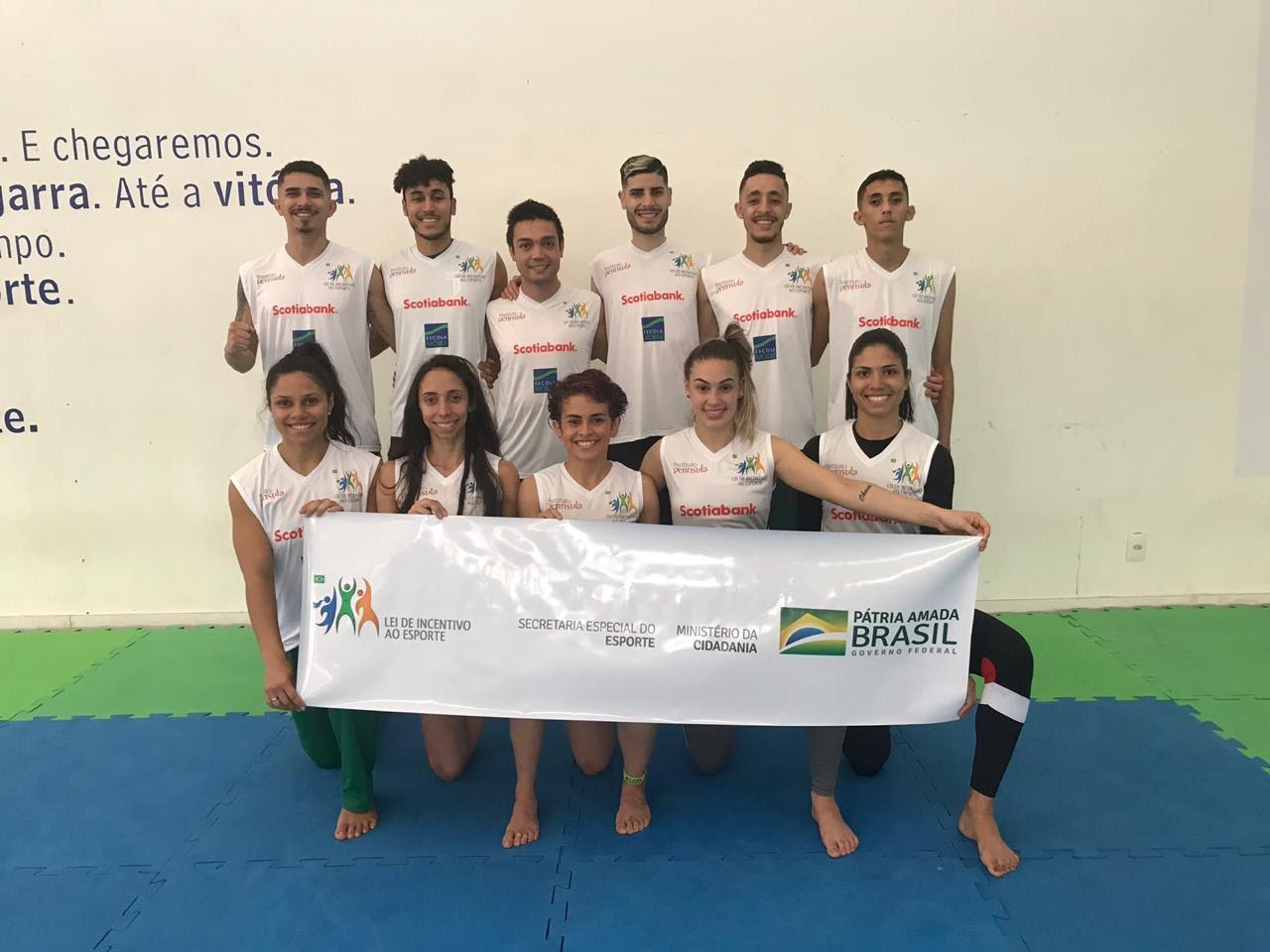 Equipe ECN/NAR se destaca na Copa Brasil de Taekwondo